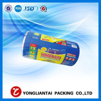 Safty food grade plastic printed ldpe film roll scrap for chips