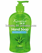 Liquid Hand Soap 500ml with Aloe/Lemon/Strawberry/Tulip/Green Tea/Apple/Rose/Herbal/Cherry/Blueberry Fragrance