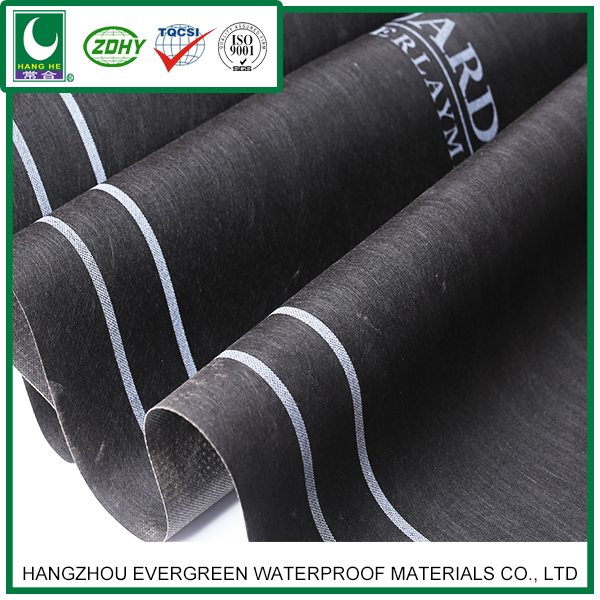 SBS modified bitumen waterproof membrane for asphalt roofing felt