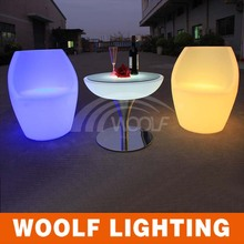 Illuminated bar chair/night club led light decorating chair