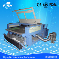 two head laser cutter machine fabric cloth leather laser cutting machine with cheap price