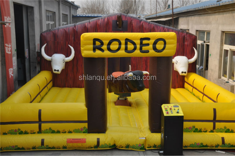 high quality Inflatable Mechanical Rodeo Bull for sale