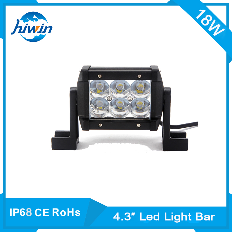 Best price! Newest super power 36 volt 4x4 led light bar 18w 20w for truck forklift tractor