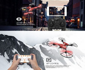 Unique design Rodio Control 6 axis gyro Hobby VR foldable drone with 720P camera and FPV