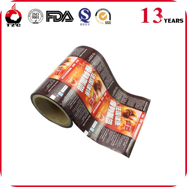 Food Packing Film/Coffee Packing Film Roll/Plastic Roll Film