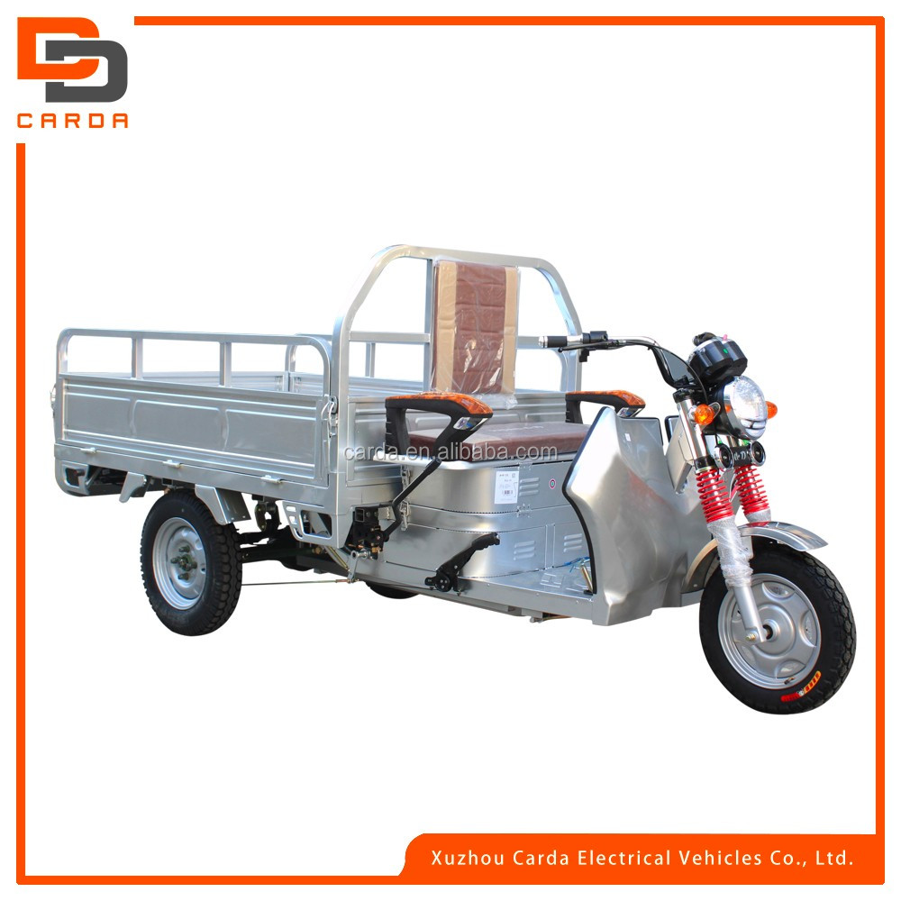 electric 3-wheel teicycle for cargo e-rickshaw for cargo auto rickshaw for sale