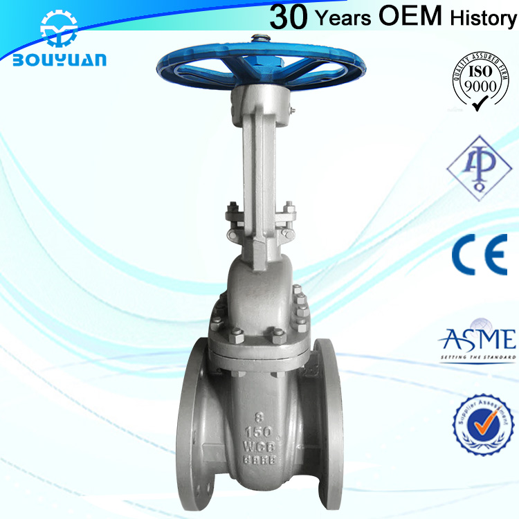 Wholesale Price CF8M stainless steel 316 gate valve for wholesales