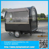 YY-FR220B Wholesale in china food vending carts with 3 wheels