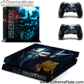 Easily Paste Vinyl Decal Dishonored 2 and Protective Skin Sticker for Sony Playstation 4 GYTM0491