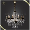 Wholesale French Gold Chandelier Dressed High Quality Pendant Lights Glass And Crystal Decor Lamps, Candle Chandelier Lamps