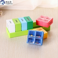 hot 14 days convenient plastic pill box