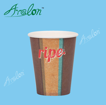 12oz ripple paper cup paper coffee cup with lids