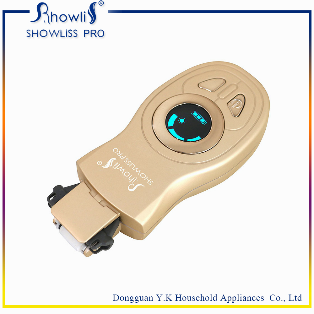 Best Electric Back Shaver With Golden Color
