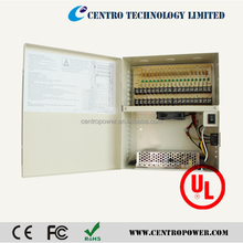 High quality UL,CE approved 30A UPS power supply power box for ip camera,access control
