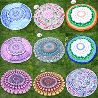 Wholesale Colorful Round Beach Towels