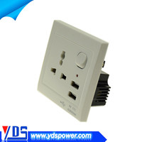 wall socket double usb wall socket with 2 usb ports 5V 2.1A suit for hotel home