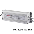 220V ac input waterproof led power supply 12v 100w