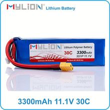 high c rate 30c Max 60c 3S11.1v 3300mah rc lipo battery