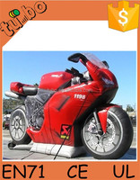 2015 hot sell custom gaint inflatable car model / inflatable motorcycle for advertising for promotion