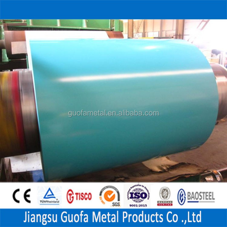 1.5mm Thick RAL 5018 Turquoise Blue Color Coated PPGI Steel Sheet