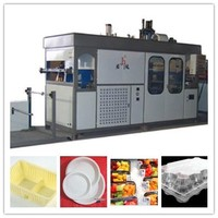 automatic plastic toy packing blister/vacuum forming machine/thick plastic sheets vacuum forming machine