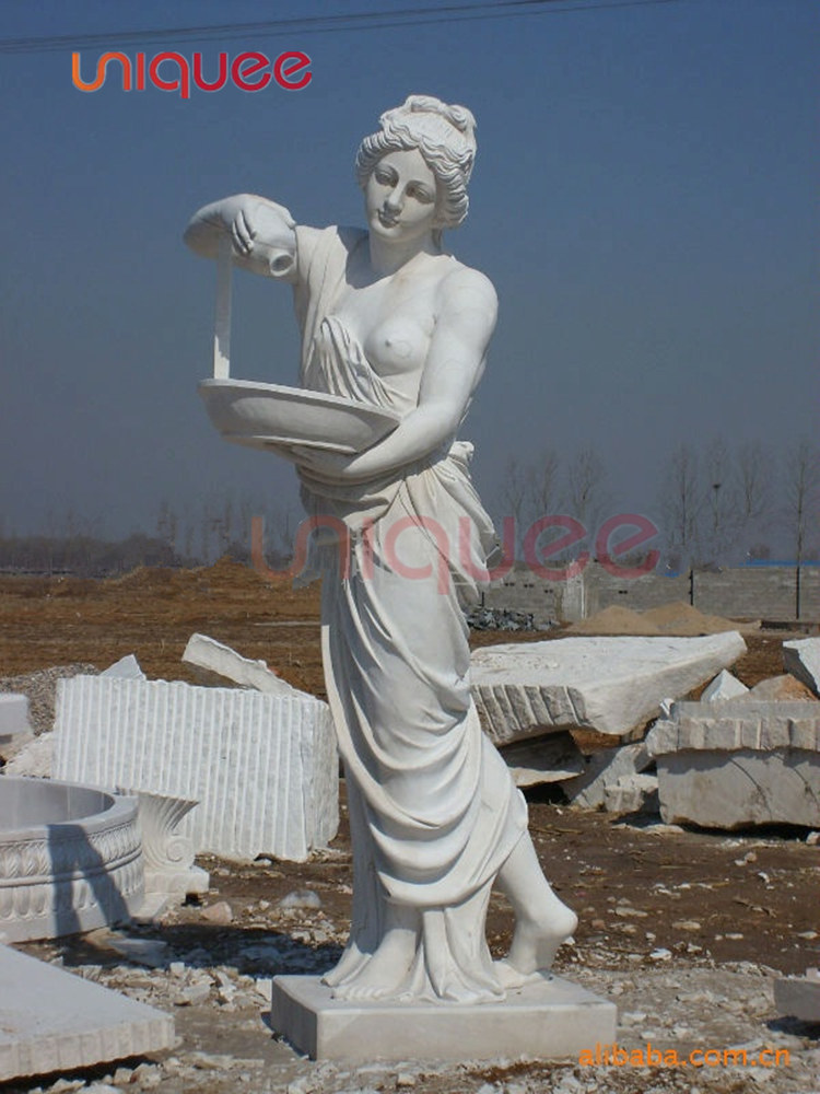 marble angel sculpture Swimming Pool Sculpture