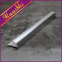 Aluminium alloy 6063 profile ceramic floor tiles edging trim