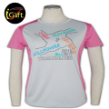 Chinese Manufatory High Quality Tailored Made Ladies Special Style Tee Shirts