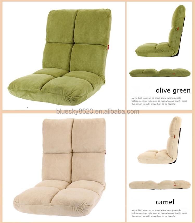 Plegable legless sof perezoso meditaci n silla piso de - Sillas de piso ...