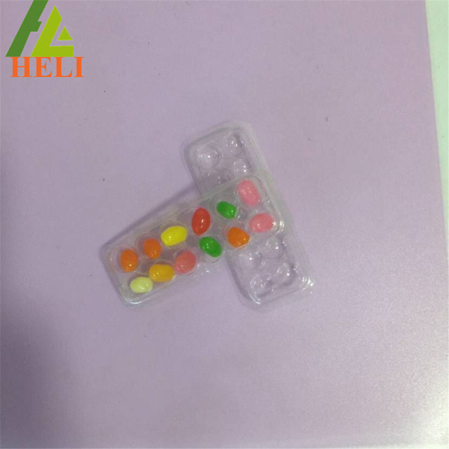 Custom blister inner tray packaging for Jelly Ball Drop Soft Candy