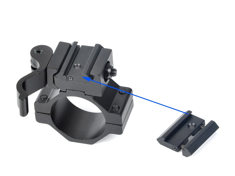 21mm to 11mm Tactical Gun Mount Rail Weaver Converter Hunting Accessories Mount Rail Weaver Adaptor