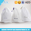 Factory Direct Small Soft Wholesale Cotton Fabric Drawstring Bag For Shoes