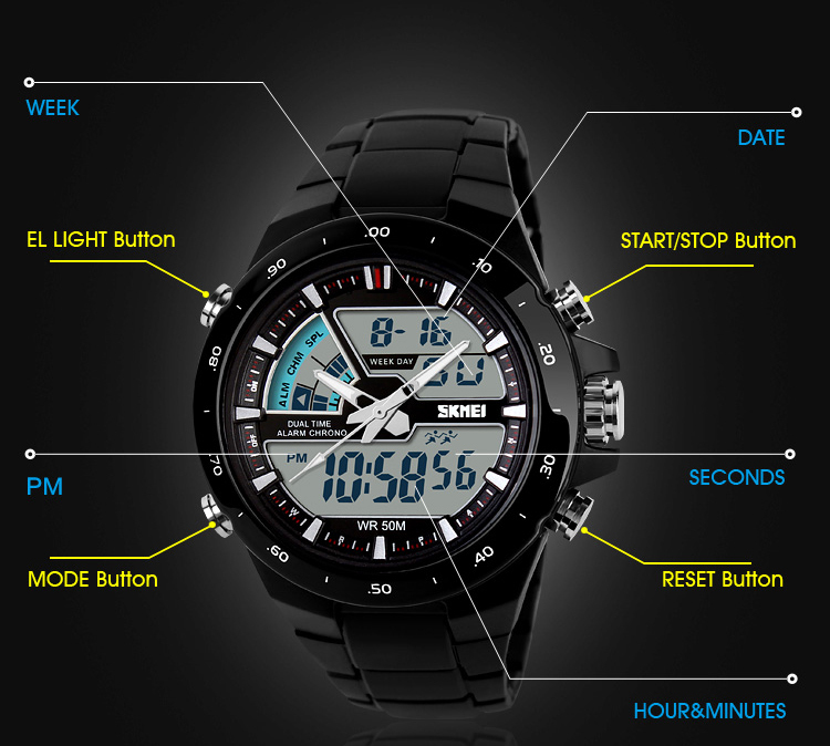 relojes digital hand watches men waterproof digital watch best wrist watch