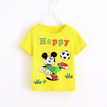 various colours kids sport shirt breathable anti-deformation ultra thin t-shirts