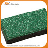 Green color durable walkway rubber floor pavers tiles