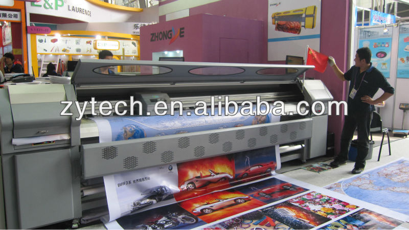 large format seiko heads solvent printer