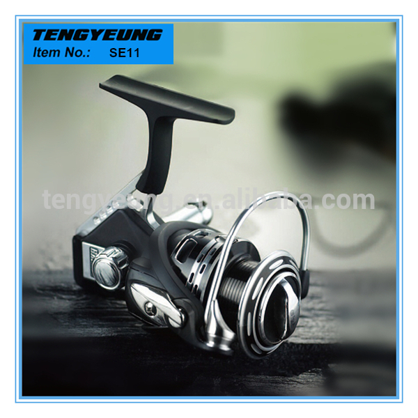 2015 New anticorrosion balance design CNC machined raft fishing reel
