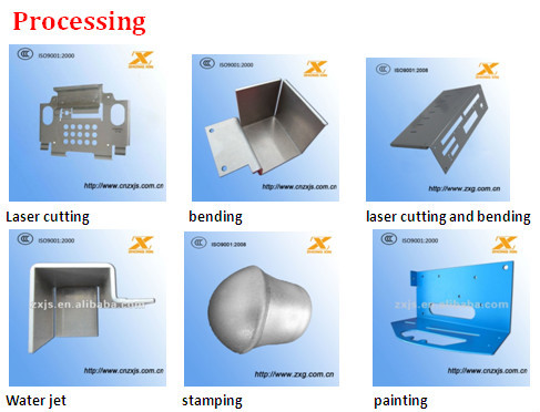 Custom OEM aluminum/stainless steel/brass/sheet metal parts fabrication