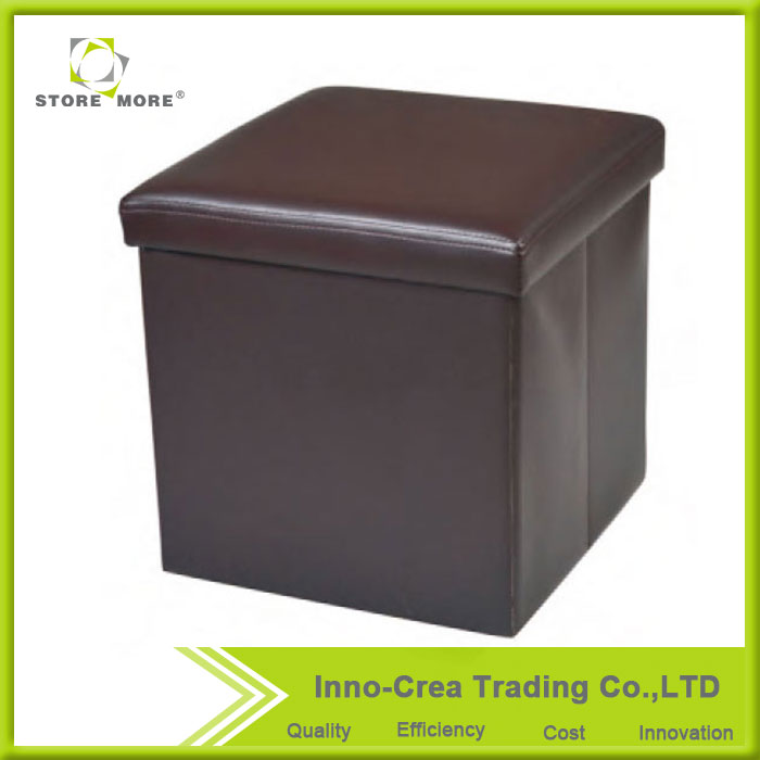 Store More OEM Most Popular Pu Foot Stool