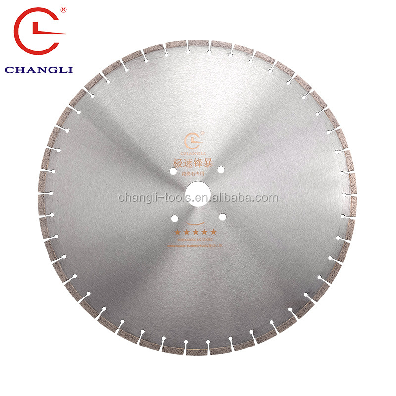 "Specialized 24"" diamond cutting tools for granite"