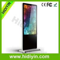 "55"" Android Wifi Touch Advertising Floor Stand LCD Digital Signage smart LCD display kiosks shopping media player"