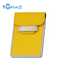 Hot sell leather customer wall mount business card holder