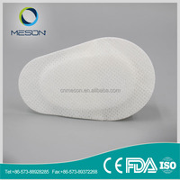 Free Sample soft sterile adhesive wound dressing eye patches medical