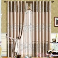 High grade printed curtain for livingroom and dedroom