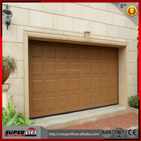 2016 Hot Sale Automatic Waterproof Overhead Sectional Door for Garage Made in China