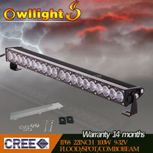 "Waterproof IP 68 250W Off Road LED Light Bar for 4X4, ATVs, SUV, UTV,Trucks 50"" Single Row LED Light Bar for Car Accessories"