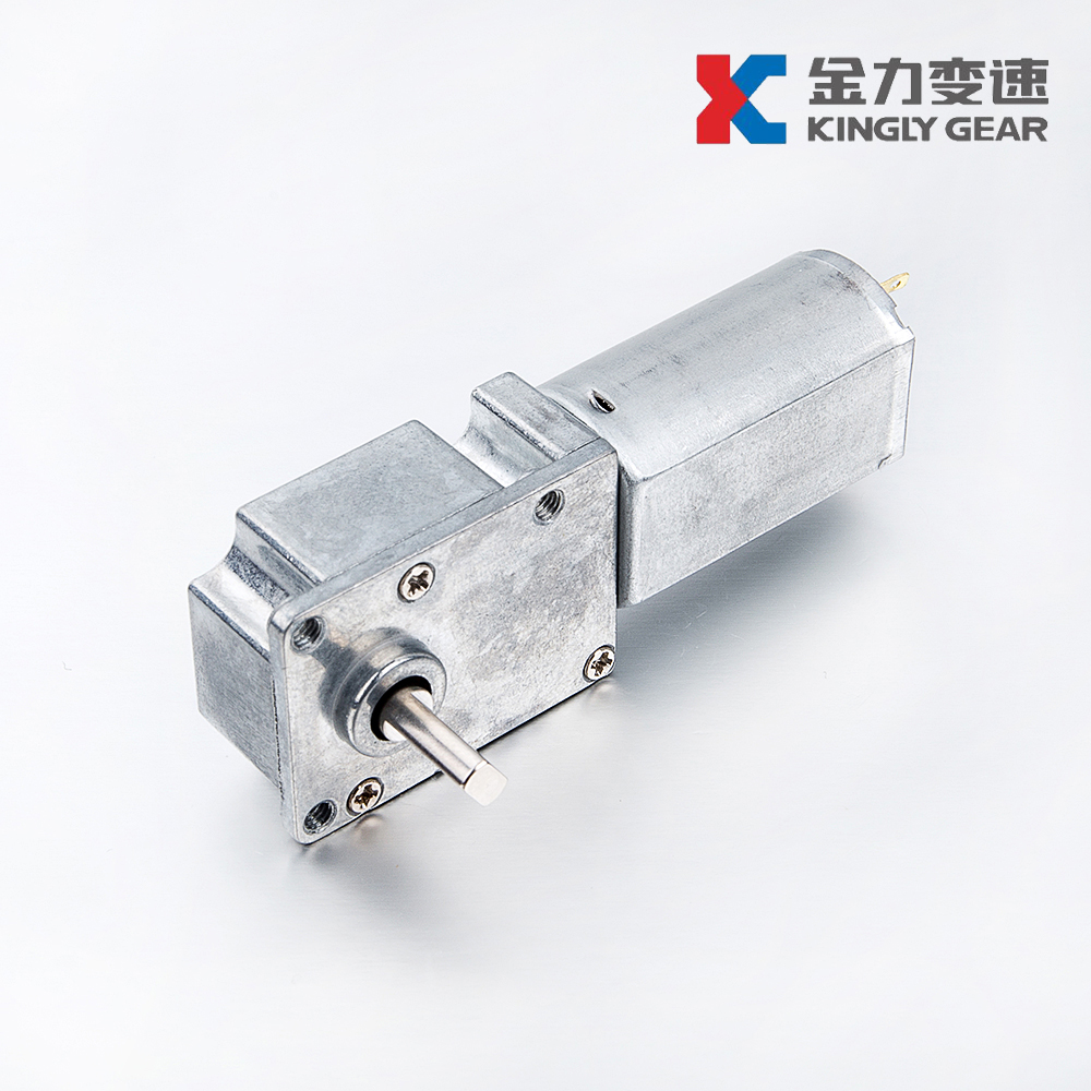 JL-25z180 small backlash and super low noise 12v dc Robotics worm gear motor