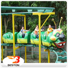 Kiddie amusement rides roller coaster caterpillar ride for sale