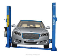China cheap two post car lift Tongda TDY-2D50M one side or two side lock used 2 post lift for sale