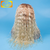 100% Virgin Hair 613 two tone Malaysian Human Hair Full Lace Wig Glueless Malaysain Human Fashion Curl Lace Wig For White Women